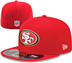 San Francisco 49ers - On Field Youth Cap 5950