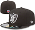 Oakland Raiders - On Field Cap 5950