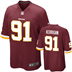 Washington Redskins - R. Kerrigan #91 Home Jersey