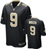 New Orleans Saints - D. Brees #9 Home Jersey