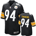 Pittsburgh Steelers - L. Timmons #94 Home Jersey
