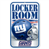 New York Giants - Locker Room Sign WH