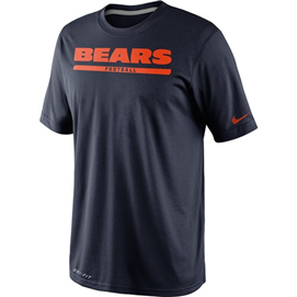 "Chicago Bears - Sideline ""Legend Font"" T"