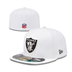 Oakland Raiders - On Field Cap 5950 WH