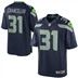 Seattle Seahawks - K. Chancellor # 31 Home Jersey