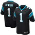 Carolina Panthers - C. Newton #1 Home Jersey