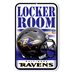 Baltimore Ravens - Locker Room Sign WH