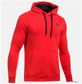 Under Armour 1302292 Rival Fitted Pull Over Hoddy